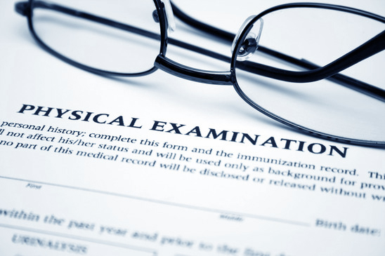 Physical exam jon